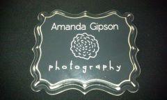 Amanda Gipson Photography Plaque