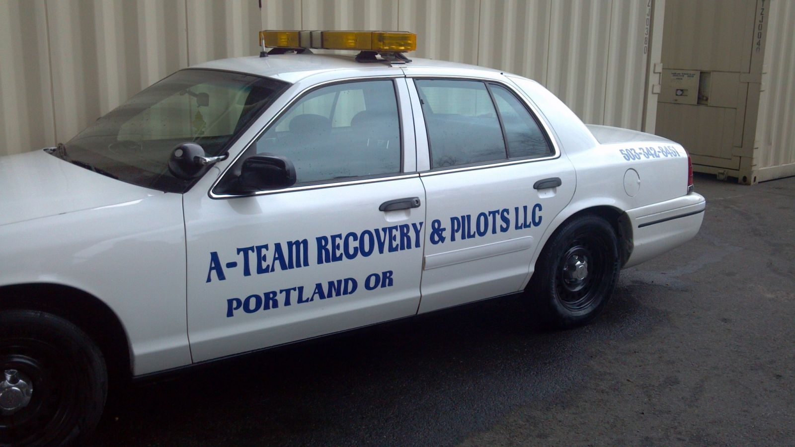 A-team Recovery & Pilots...side view