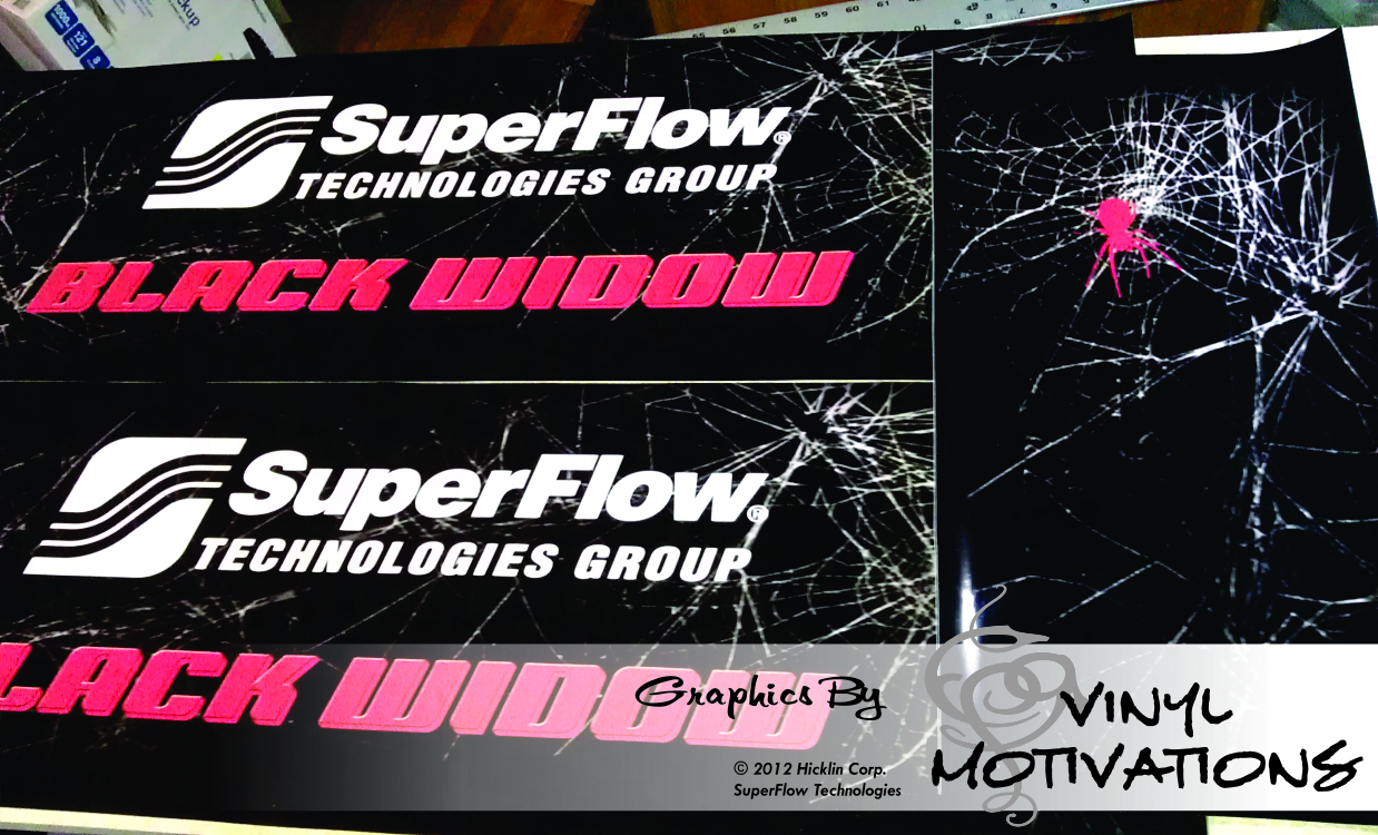Superflow Black Widow Dyno Wrap