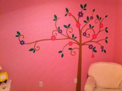 A tree for a friend of ours and their new baby's room!