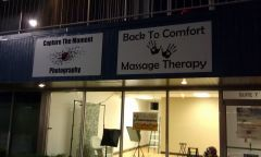 Capture The Moment Photography and Back To Comfort Massage Therapy Installed