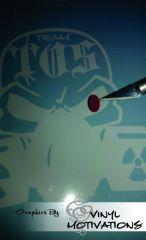 Team TOS Skull Logo