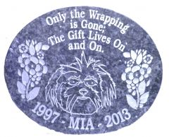 Oval Pet Memorial