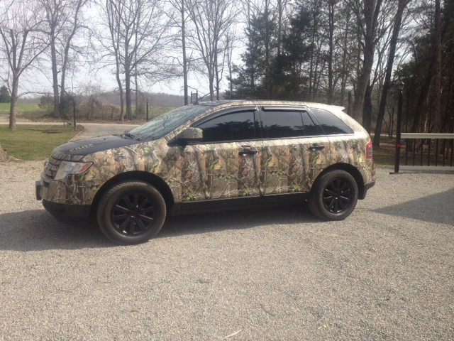 Camo Ford Edge Members Gallery Uscutter Forum