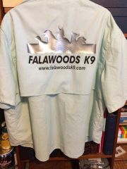 100% nylon fishing shirt