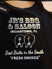 Shirt design for JR'S BBQ & SALOON - Indiantown, FL