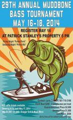 Poster I designed for  a local bass tournament