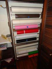 DIY Vinyl Rack