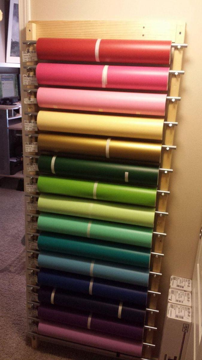 your help pin vinyl rolls to roll machine cricut store use floor for rack you