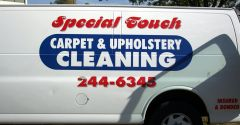 Special Touch Carpet Care Job