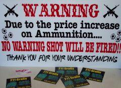No more Warning shots! haha