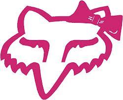Fox Racing Head with Bow Vector Eps File Needed - SignBlazer