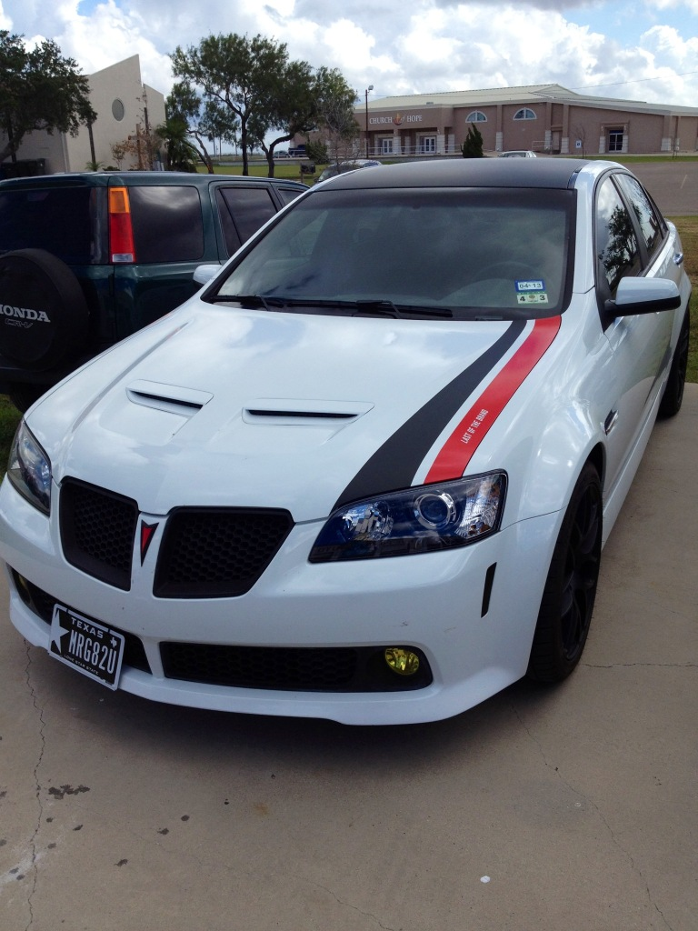Pontiac G8 Hood Template Graphic Requests Uscutter Forum