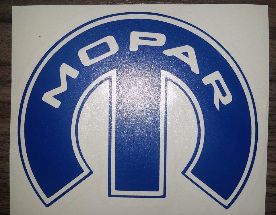 Reflective Mopar Logos Show Your Work Uscutter Forum