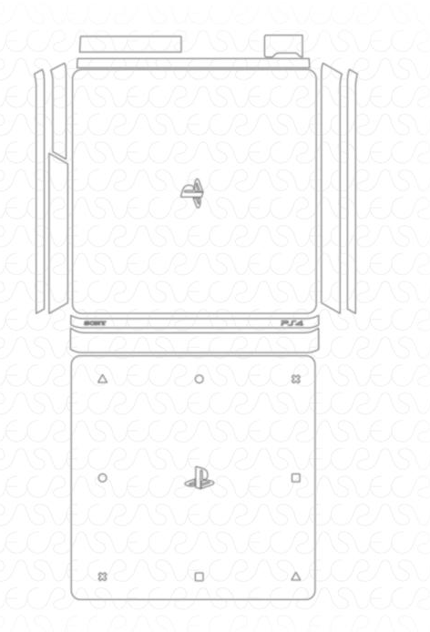 sony ps4 slim template graphic requests uscutter forum
