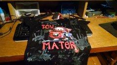 Grandson needed a mater shirt