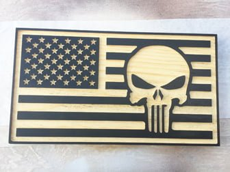 CNC AMERICAN FLAG PUNISHER SKULL.jpg